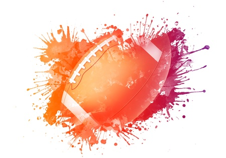 pelota rugby: Bal�n de f�tbol americano