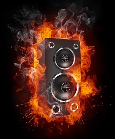 sound speaker: Acoustic Loudspeaker