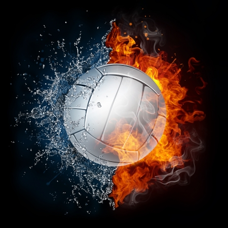 ball: Volleyball Ball Stock Photo