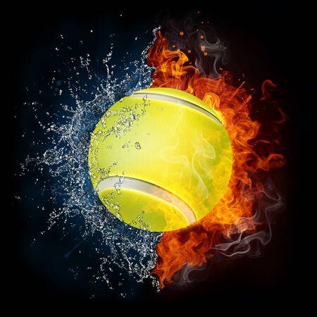 backhand: Tennis Ball