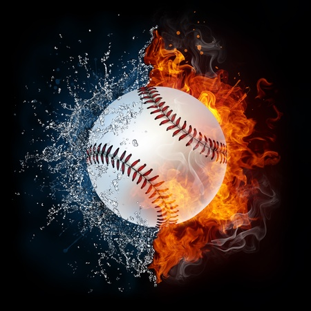fire symbol: Baseball Ball