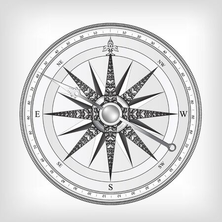 Compass Stock Vector - 9721051