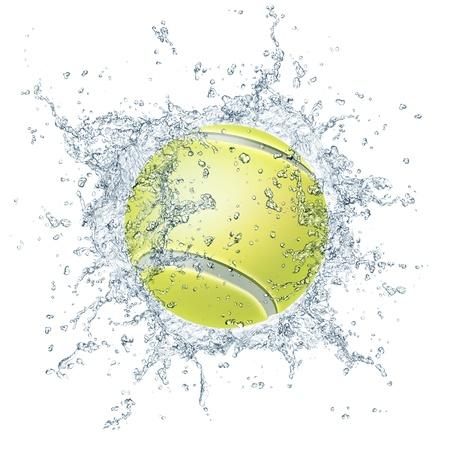ball of water: Tennis Ball