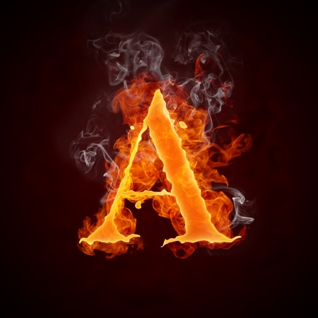 Fire Letters A-Z