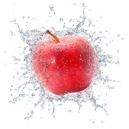 manzana agua: Manzana Roja