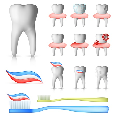 치과 세트