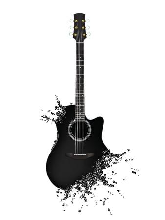 rocks water: Electric Guitar
