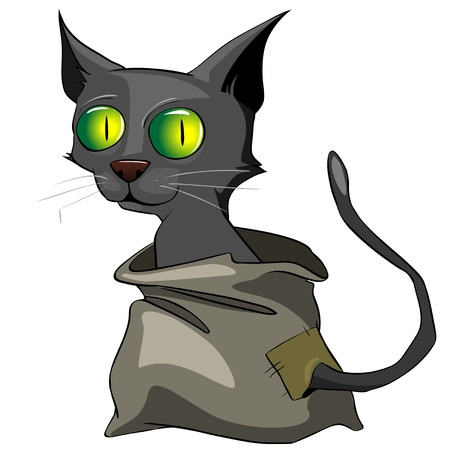 Cartoon Character Cat Stock Vector - 10294185