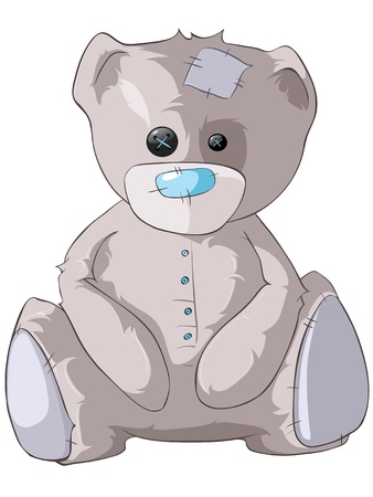 cute bear: Cartoon Character Bear