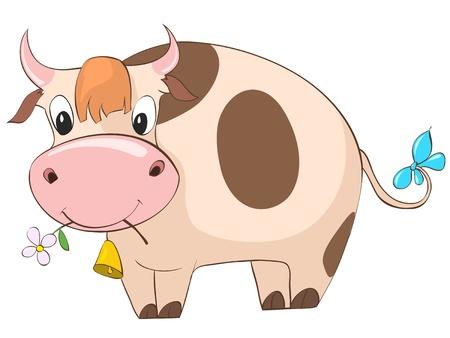 Cartoon Character Cow