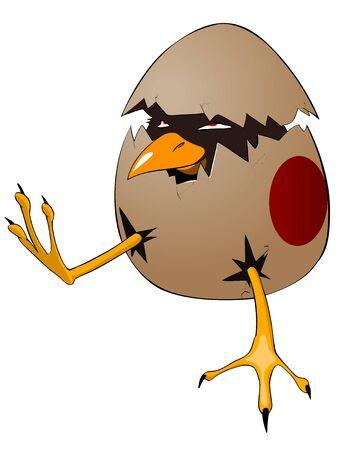 Cartoon Character Chick