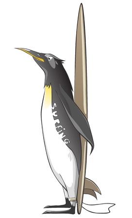 Cartoon Character Penguin Stock Vector - 10303532