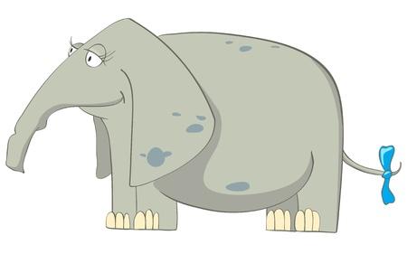Cartoon Character Elephant Stock Vector - 10303530