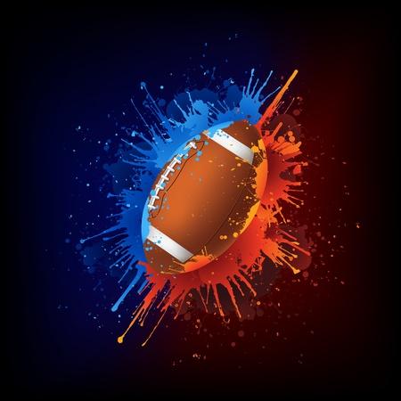 flame: Football Ball