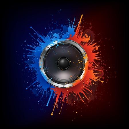 equipo de sonido: Altavoz acústico