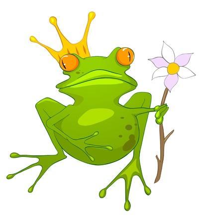 Cartoon Character Princess Frog
