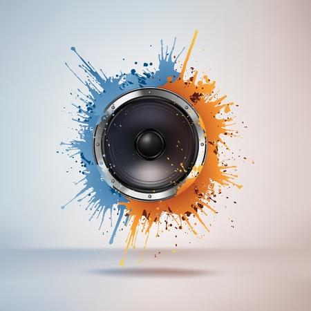 equipo de sonido: Altavoz ac�stico