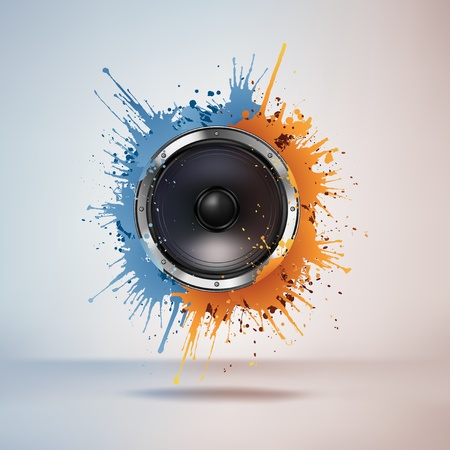 stereo: Haut-parleur acoustique