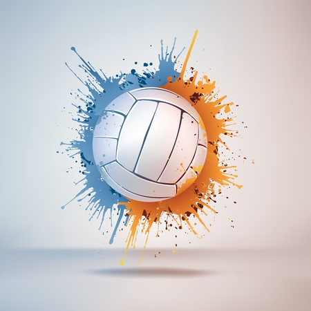 Volleyball Ball Illustration