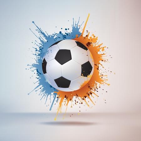 Balón de fútbol Vectores