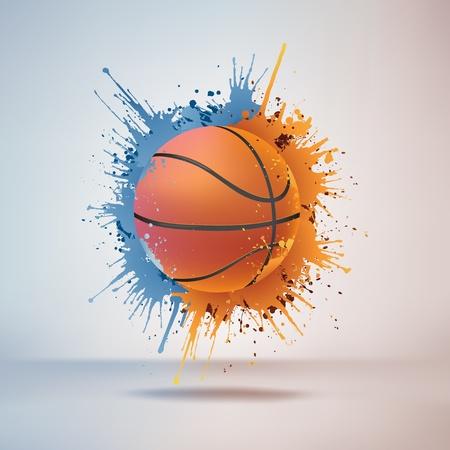 Pelota de baloncesto Foto de archivo - 10351842