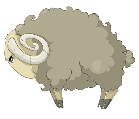 Cartoon Character Sheep