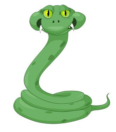 만화 캐릭터 뱀