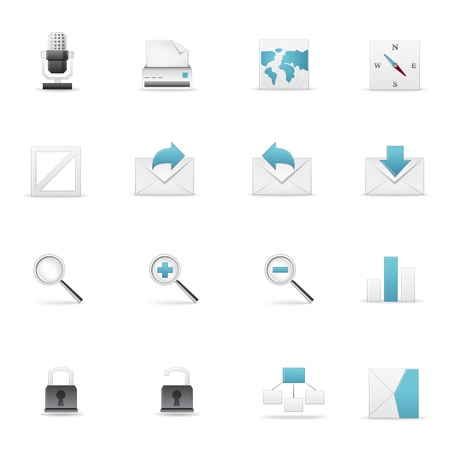 systematization: Icon set