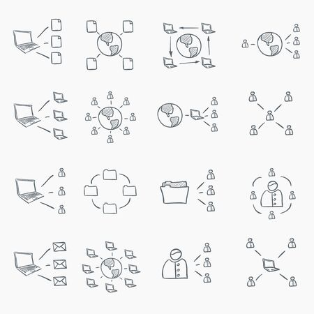 postit note: Sketch Icon Set
