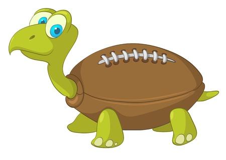 tortuga: Tortuga de personaje de dibujos animados