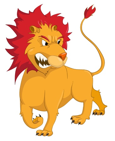 Cartoon Character Lion