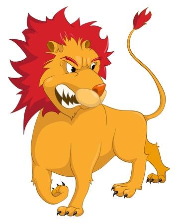 design bad: Cartoon Character Lion