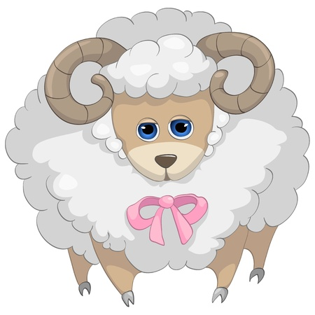 Cartoon Character Sheep