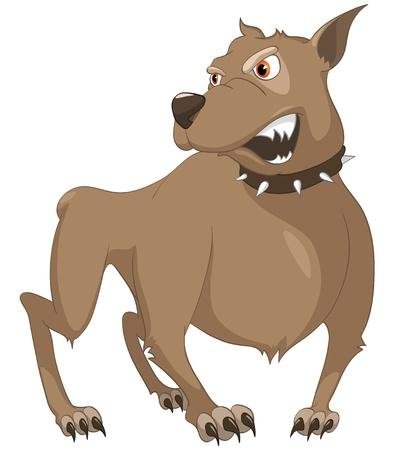 sad dog: Cartoon Character Sly Dog
