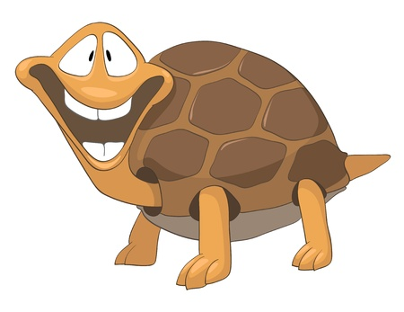 Cartoon Character Turtle Stock Vector - 10613982