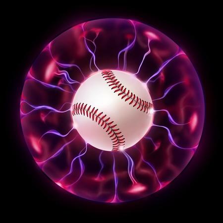 Baseball Ball Wheel photo