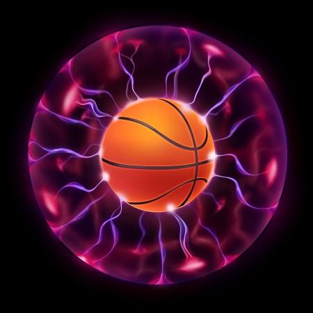 Basketball Ball Wheel photo