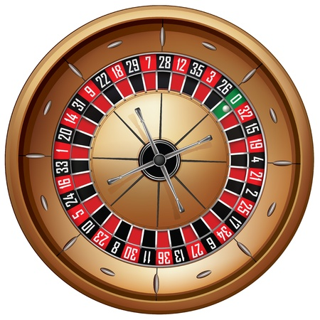 Roulette Stock Vector - 10894109