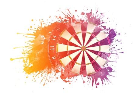 Darts Board Reklamní fotografie