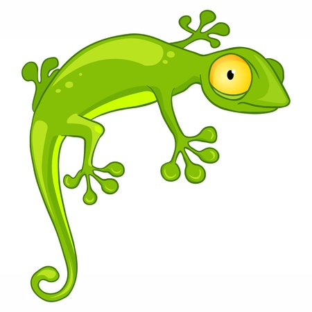 jaszczurka: Lizard Cartoon Character