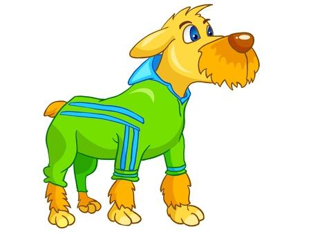 Cartoon Character Dog Illustration