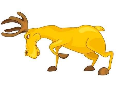 baby toy: Cartoon Character Elk