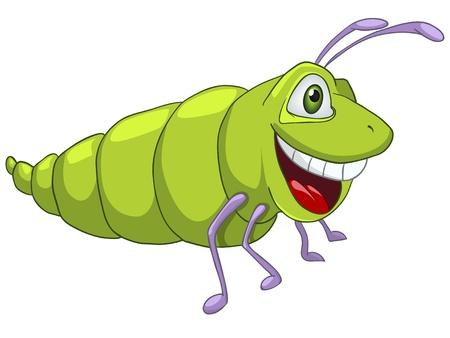 children caterpillar: Cartoon Character Caterpillar