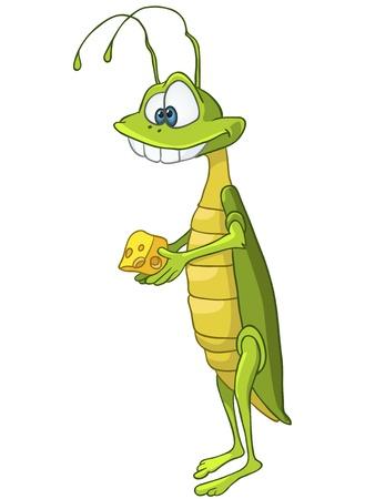 szarańcza: Locust Cartoon Character