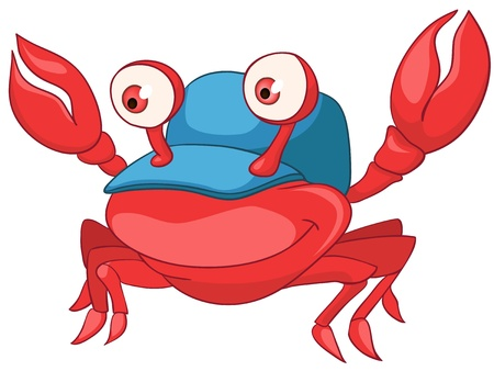 babyish: Cartoon Character Crab