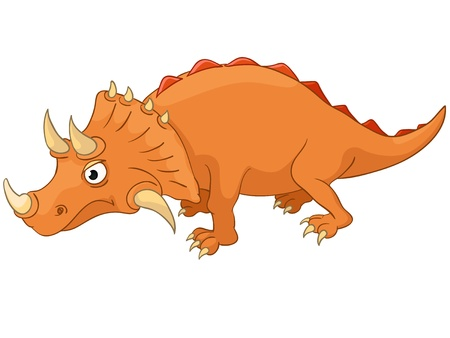 Cartoon Character Dino Vector