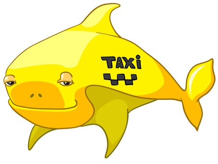 Cartoon Character Fish Vector