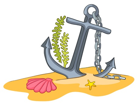 anchor: Cartoon Underwater