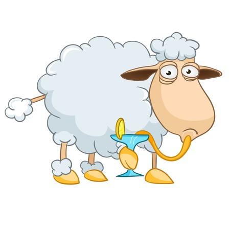 ovejita bebe: Las ovejas de dibujos animados car�cter