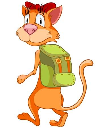 Cartoon Character Cat Imagens